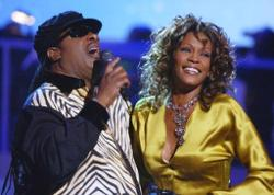 Whitney Houston & Stevie Wonder