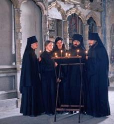 Хор братии Валаамского монастыря