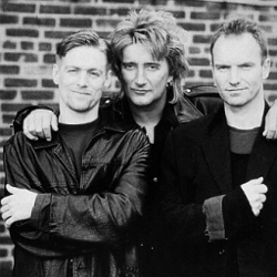 Brian Adams & Sting & Rod Stew