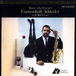 Cannonball Adderley With Bill Evans