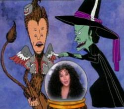 Cher With Beavis And Butt-head