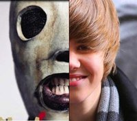 Justin Bieber vs. Slipknot