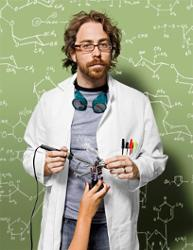 Jonathan Coulton and GlaDOS