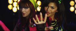 Bella Thorne, Zendaya & Cast of Shake It Up: Break It Down