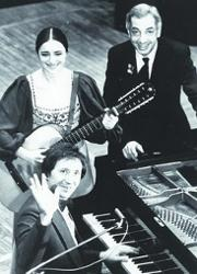 Галина Беседина и Сергей Тараненко