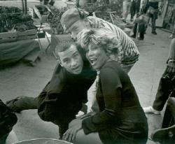Tina Turner and Eros Ramazotti