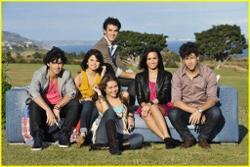 Jonas Brothers, Miley Cyrus, Selena Gomez