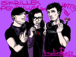 Knife Party & Skrillex