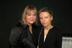 Светлана Сурганова и Настя Полева