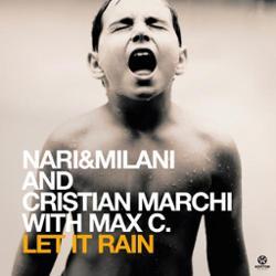 Nari & Milani and Cristian Marchi with Max C.