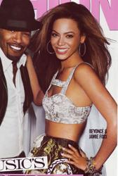 Jamie Foxx & Beyonce