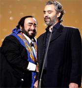 Luciano Pavarotti & Andrea Bocelli