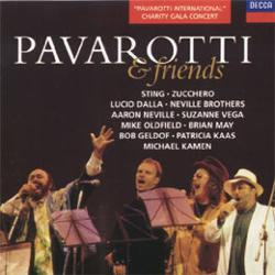 Luciano Pavarotti & Eric Clapton