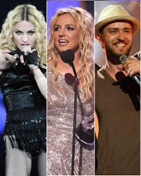 Madonna Vs. Britney Spears Vs. Justin Timberlake
