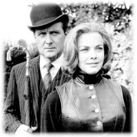 Patrick Macnee & Honor Blackman