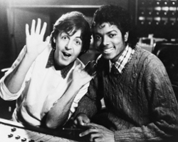 Paul Mccartney&michael Jackson