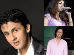 Sonu Nigam, Shreya Ghosal & Salim Merchant