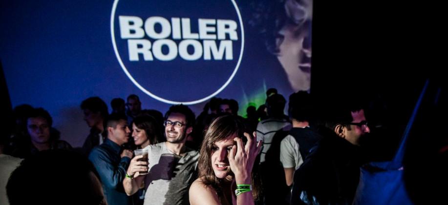 Музыка вечеринок Boiler Room
