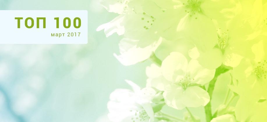 ТОП 100 Zaycev.net март 2017