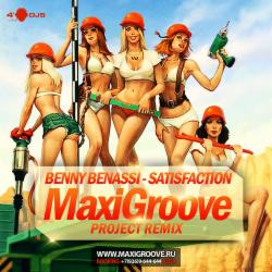 Обложка Benny Benassi - Satisfaction (MaxiGroove Project remix)