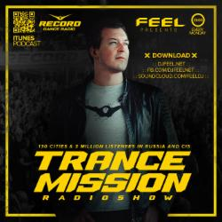 Обложка DJ Feel - TranceMission (10-10-2016)