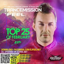 Обложка DJ Feel - TOP 25 OF FEBRUARY 2014 (27-02-2014)