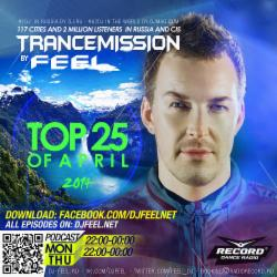 Обложка DJ Feel - TOP 25 OF APRIL 2014 (Радио Рекорд)