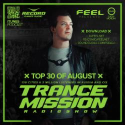 Обложка DJ Feel - TOP 30 OF AUGUST 2016 (05-09-2016)