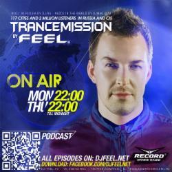 Обложка DJ Feel - TranceMission (10-11-2014)