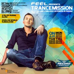 Обложка DJ Feel - TranceMission (24-06-2013)
