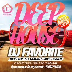 Обложка DJ Favorite - Deep House Summer 2014 Mix (Night Club, Terrace, Beach)