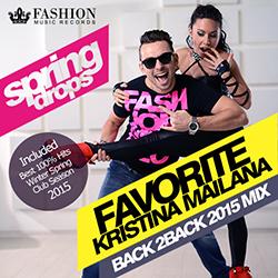 Обложка DJ Favorite & DJ Kristina Mailana - Spring Drops 2015 (Back 2 Back Mix)