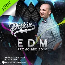 Обложка DJ Pitkin - June EDM Promo Mix '14 (4DJS Exclusive) (20/06/2014)