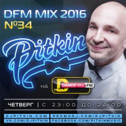 Обложка DJ Pitkin - DFM Mix No.34 (DFM Exclusive) (20/01/2016)