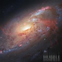 Обложка Syntheticsax - Hubble