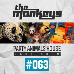 Обложка The Mankeys - Party Animals House Radioshow 063 (2015)