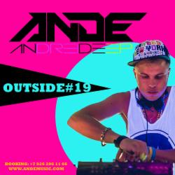 Обложка ANDE - OUTSIDE #19 (2016)