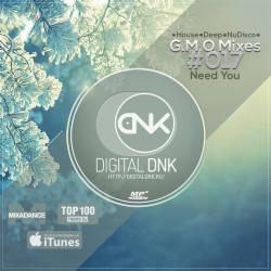 Обложка Digital DNK - G.M.O Mixes (#017 Need You) [digitaldnk.ru]