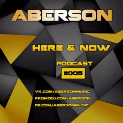Обложка Aberson - Here & Now 005 (2014)