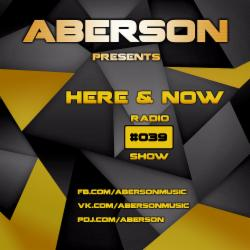 Обложка Aberson - Here & Now Radio Show 039 (2015)