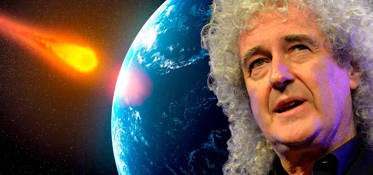 Гитарист Queen Брайан Мэй написал научную работу об уникальном астероиде