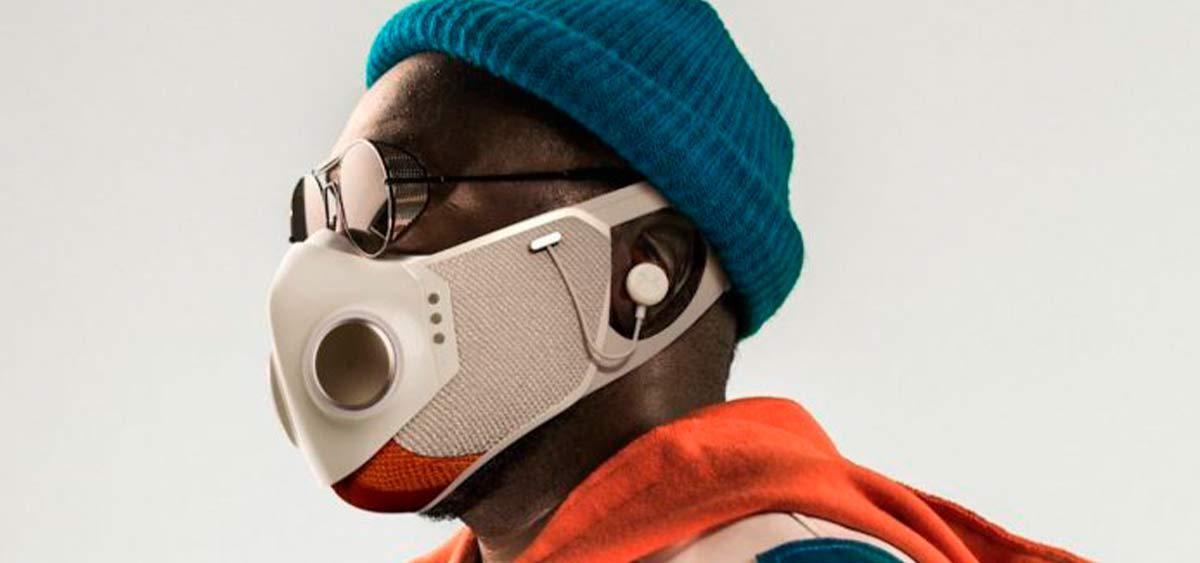 Will.i.am представляет высокотехнологичную маску для лица с Bluetooth