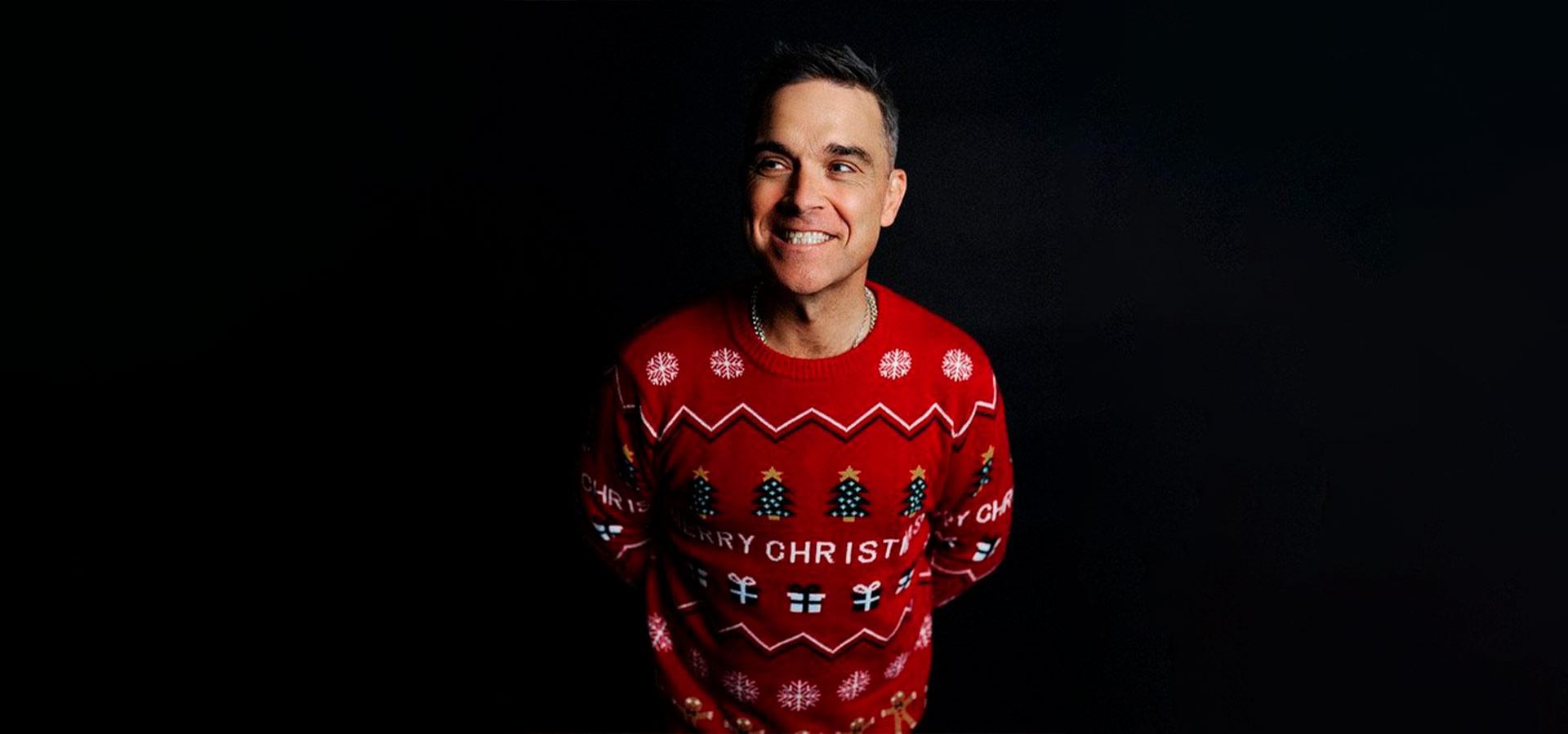 Робби Уильямс выпустил дерзкую песню «Can't Stop Christmas»