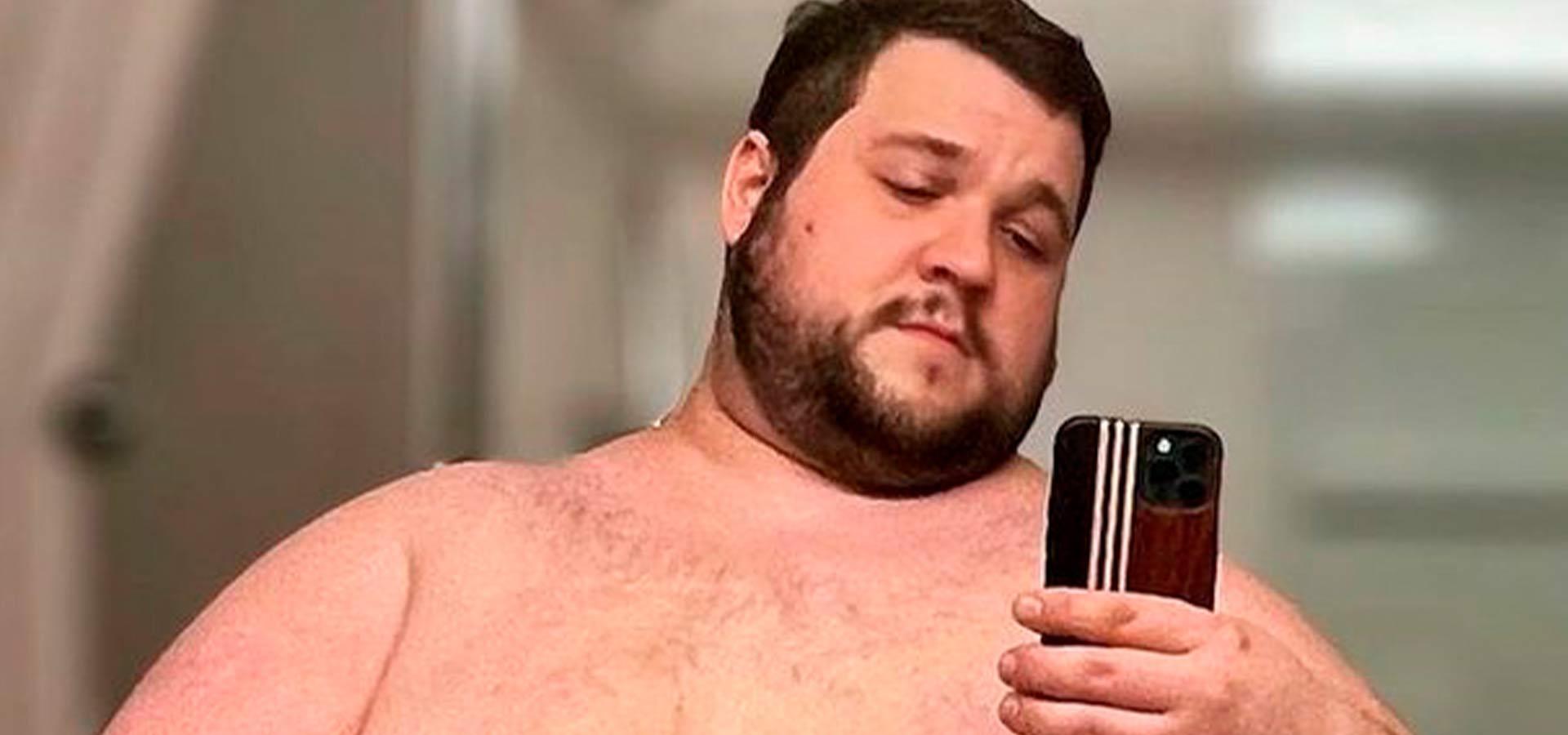 Американец растолстел до 172 килограммов