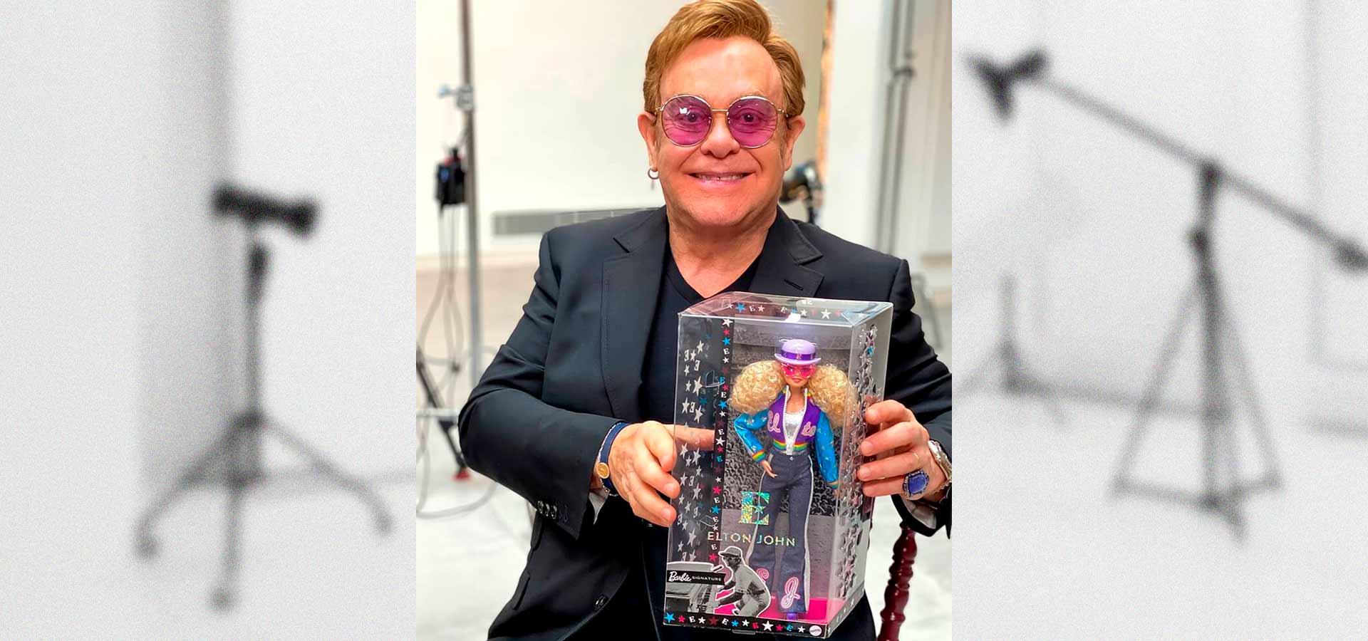 Компания Mattel выпустила куклу Барби в честь Элтона Джона