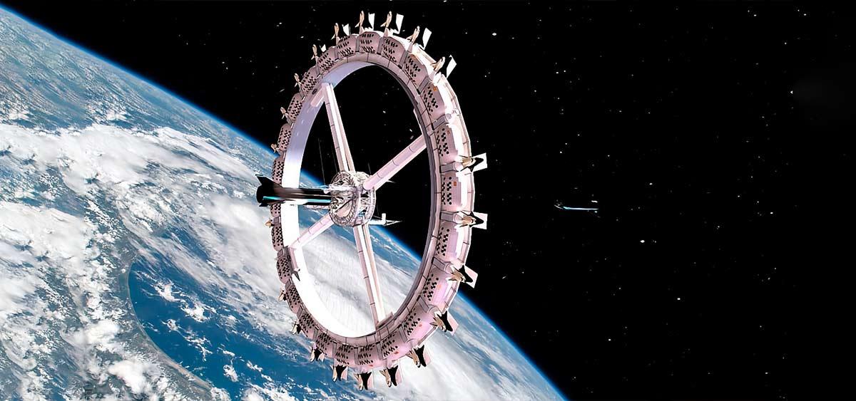 В 2027 году откроется первый в истории космический отель