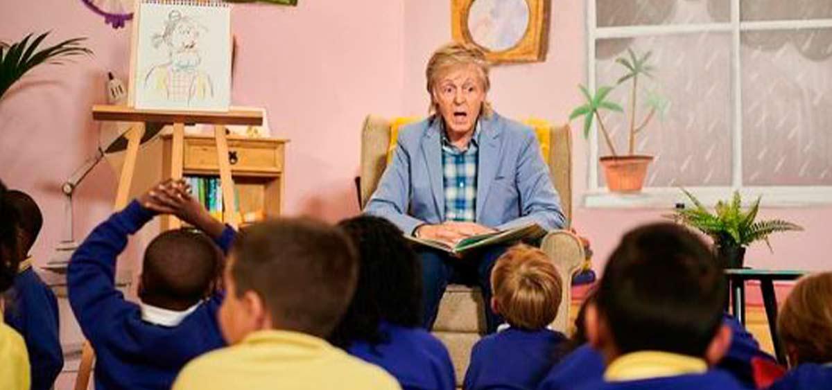 Пол Маккартни в сентябре выпустит новую книжку с картинками для детей