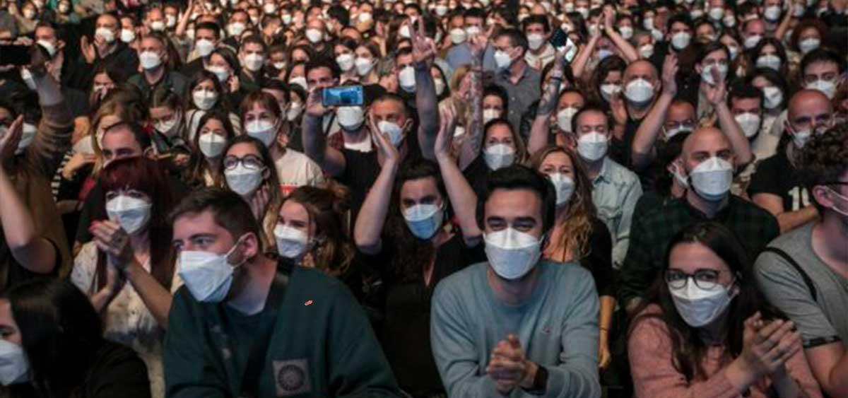В Испании провели рок-концерт на 5000 человек