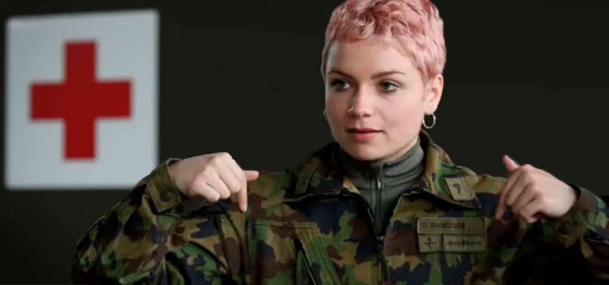 Швейцарским военным разрешили носить женское белье